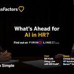 "Will ""Cognitive Augmentation"" change HR? @Bersin's @ChristaDegnan has answers on Firing Line with @BillKutik: https://t.co/N7ugNhT3J4"