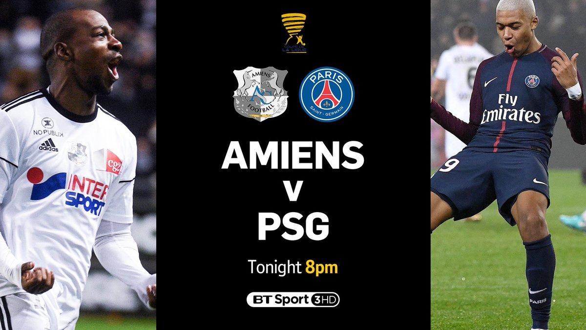 Amiens vs PSG