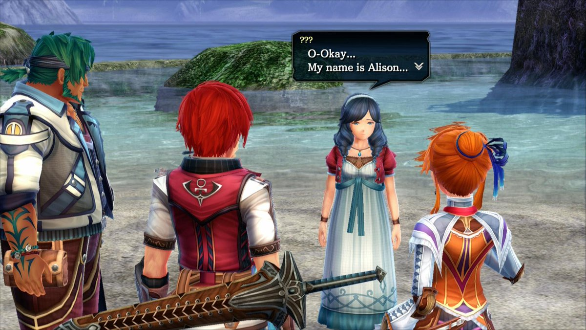 Ys VIII: Don't be tearful Dana you look lovely tonight  DTM2v7LUQAA1QVV
