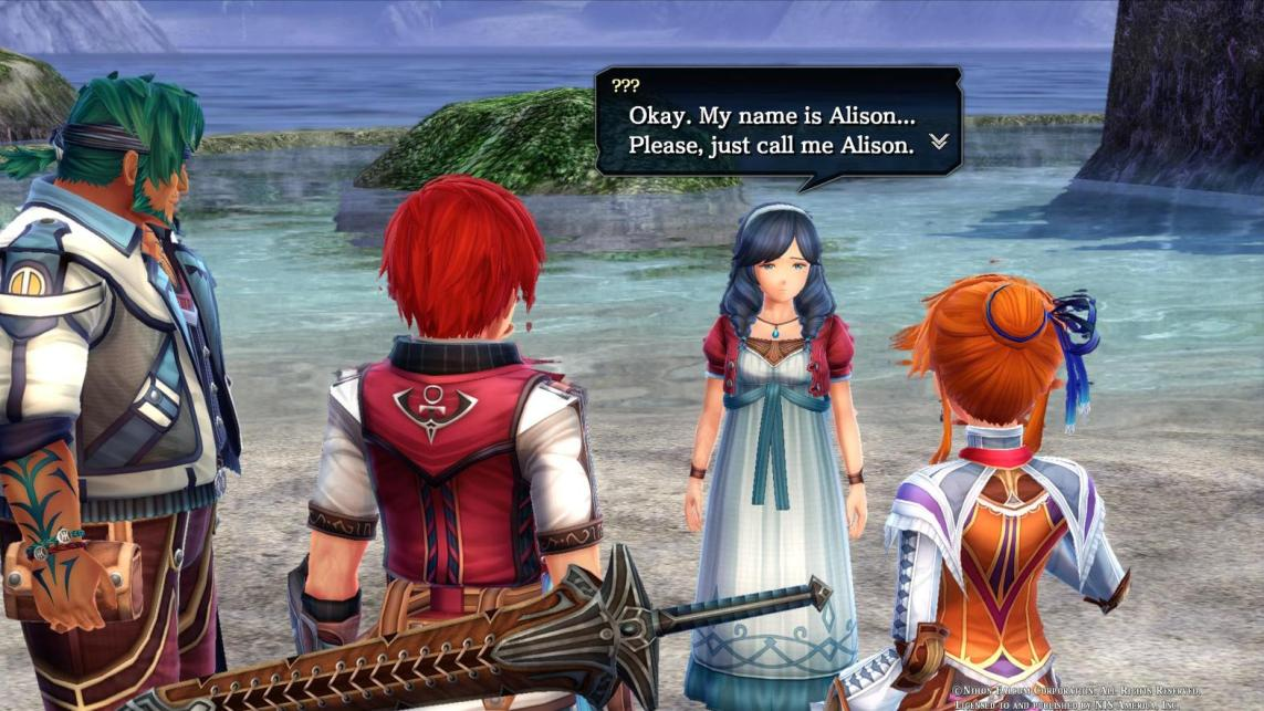 Ys VIII: Don't be tearful Dana you look lovely tonight  DTM2v7NU8AEXOtA