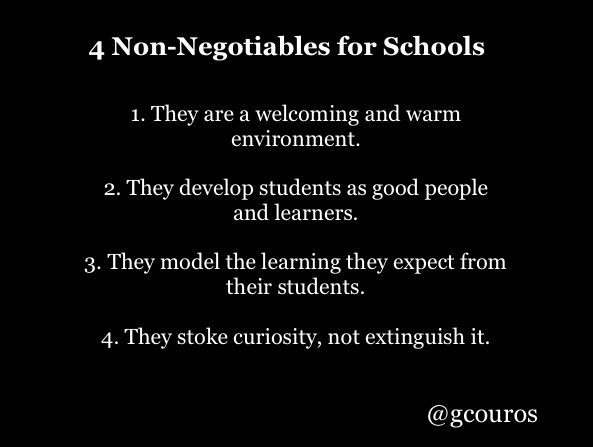 RT @gcouros: 4 Non-Negotiables for Schools https://t.co/2e5bNfE6Gp
