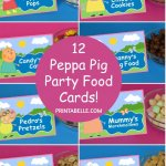 Peppa Pig Birthday Party Food Cards (+ free sign!) https://t.co/AFs7Y35qwX