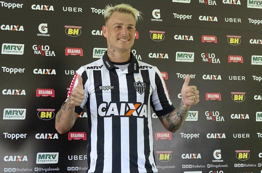 Róger Guedes: 'A gente sabe que o maior de Minas é o Galo.' #SelecaoSporTV   📸 Guilherme Frossard