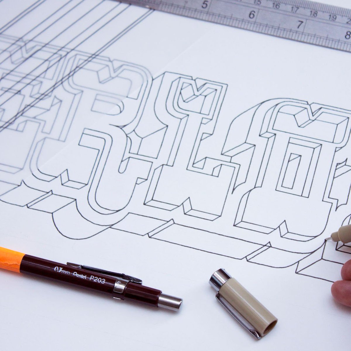 Check out this new #typography series to celebrate the 154th birthday of the #LondonUnderground via @theaoi ...