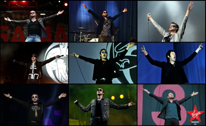 Happy birthday Tom Meighan!  Best thing about a gig? The giant invisible beach balls.