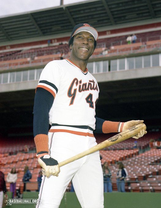 Happy 80th Birthday to Baseball member and great, Willie McCovey.