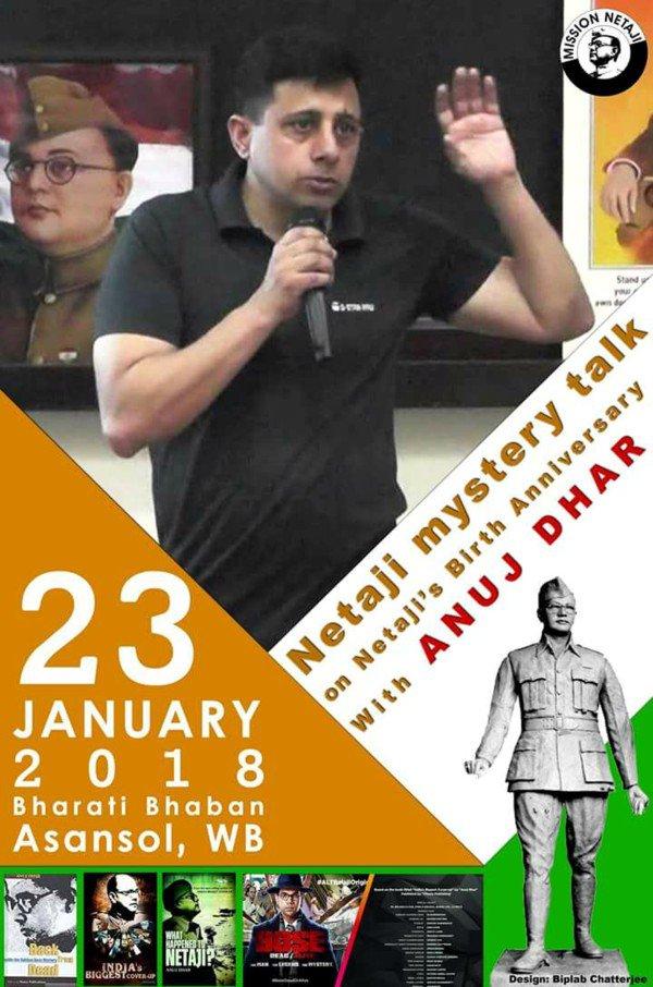 Good poster @BiplabC2. I will be in Asansol on 23rd Jan. #MissionNetaji #DeshPremDivas #BoseDeadorAlive @PanickarS @chandrachurg @pynchonlama<br>http://pic.twitter.com/bDv2HQngNS