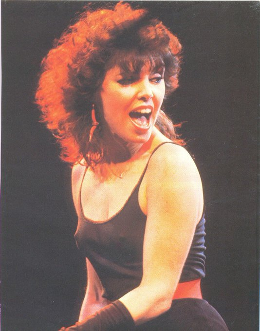 Happy birthday Pat Benatar! Hit me with your best shot!
