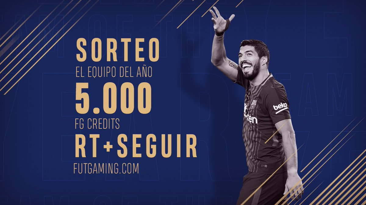 RT @FUTGaming_com: SORTEO!!!  5.000 CREDITOS FG.  RT + SIGUENOS PARA PARTICIPAR!  FINALIZA 15/01/2018 https://t.co/4uEjE1LOL3
