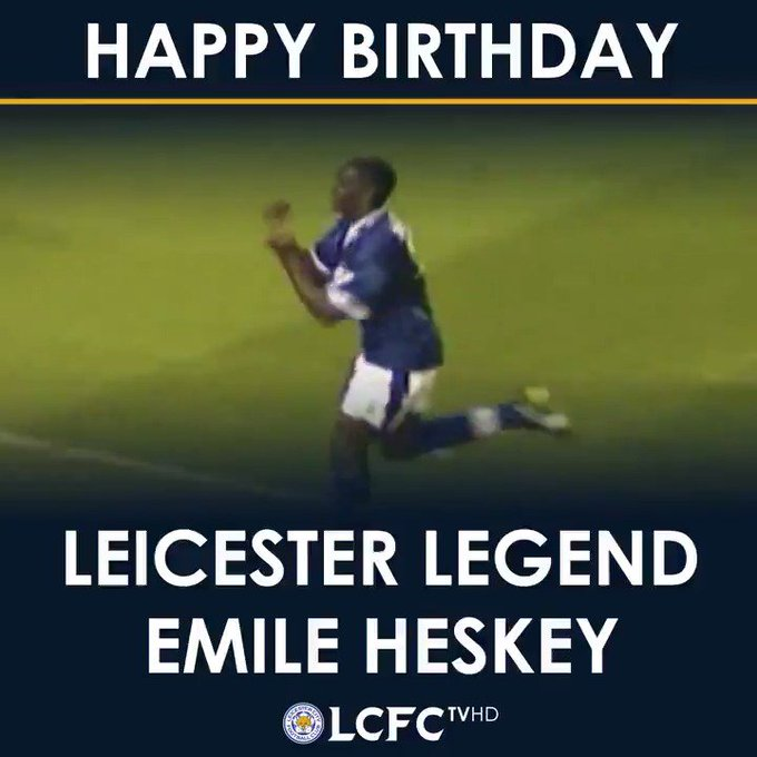 Happy Birthday to Emile Heskey.  He was never afraid to hit one from distance