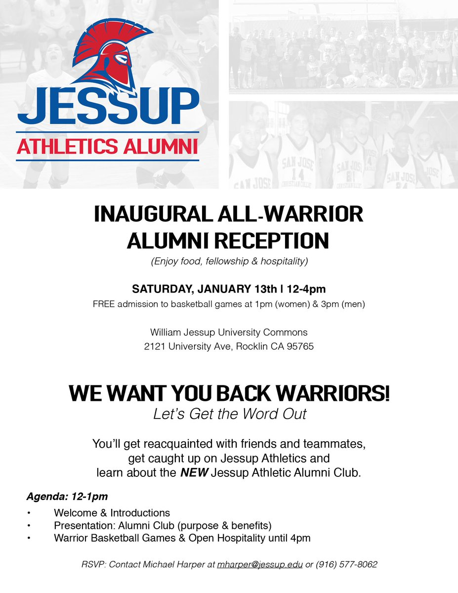 jessup athletics on twitter calling all alumni it s not too