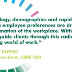 Let us help you navigate the changing world of work with CBRE 360. Learn more at: https://t.co/WY3VGfXf2W #CBRE360