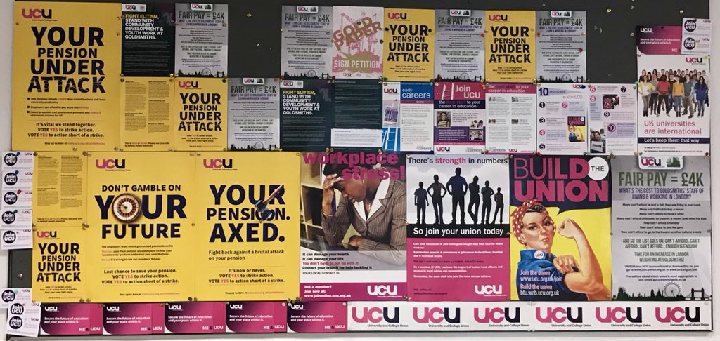 .'Competition is the law of the jungle, but cooperation is the law of civilisation.' Fight to save the #USS pension @GoldsmithsUCU @ucu #jointheunion #unityisstrength #strikeforuss<br>http://pic.twitter.com/LepZSQbrvT