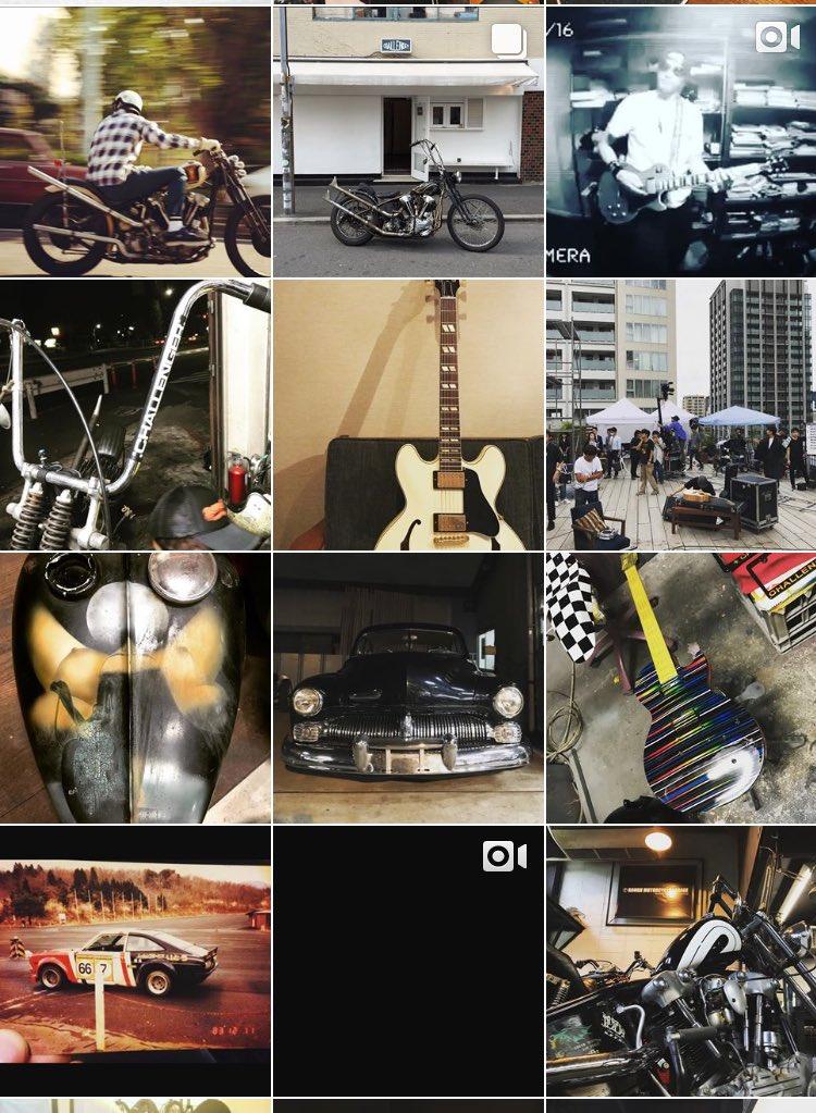 画像,長瀬と思しきインスタ格好良いなーー!バイクとギター用垢っぽいけど。ハーレーがよく似合う。これは草彅剛と趣味が合うのも納得 https://t.co/m2inZa…