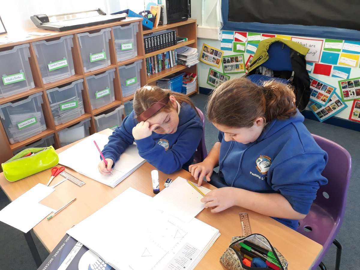 Working hard in Year 6 translating shapes. #hardworkpaysoff #year6 #maths #teamwork