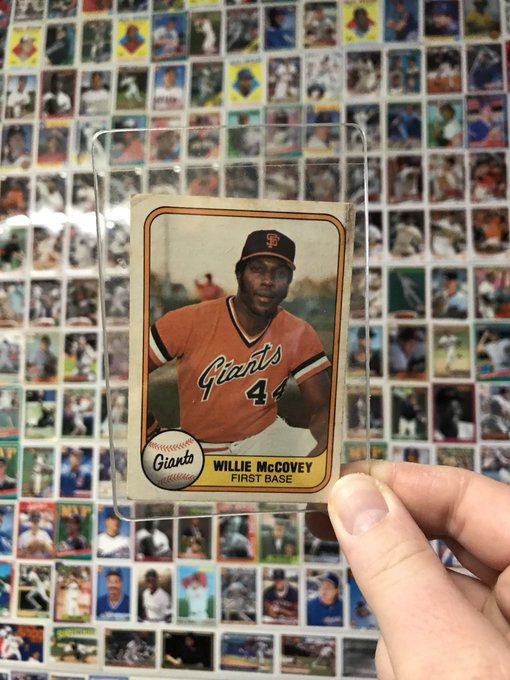 Dug this bad boy up to wish a Happy 80th Birthday to the great Willie McCovey