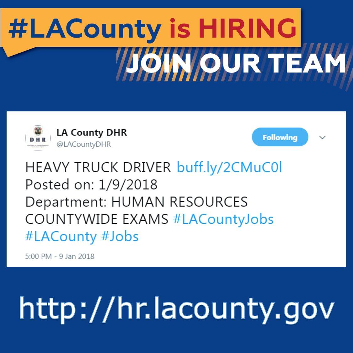 LA County DPSS on Twitter: