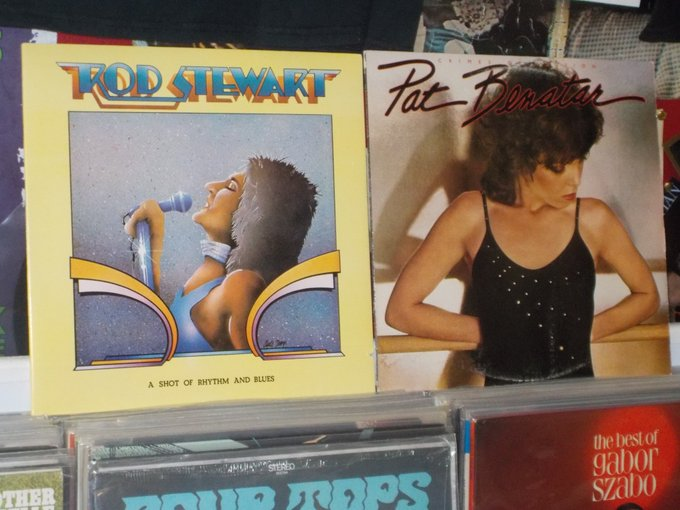 Happy Birthday to Rod Stewart & Pat Benatar