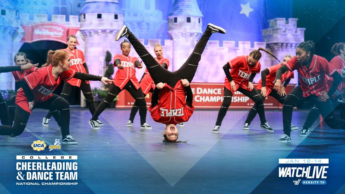 Temple Dance Team TUDiamondGems Twitter