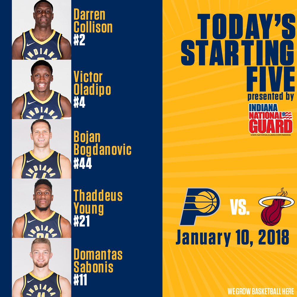 1aa8871ac Indiana Pacers on Twitter