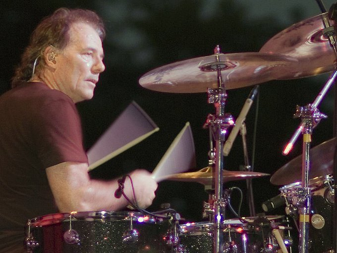 Happy birthday Aynsley Dunbar, who co wrote Warning off Black Sabbath
