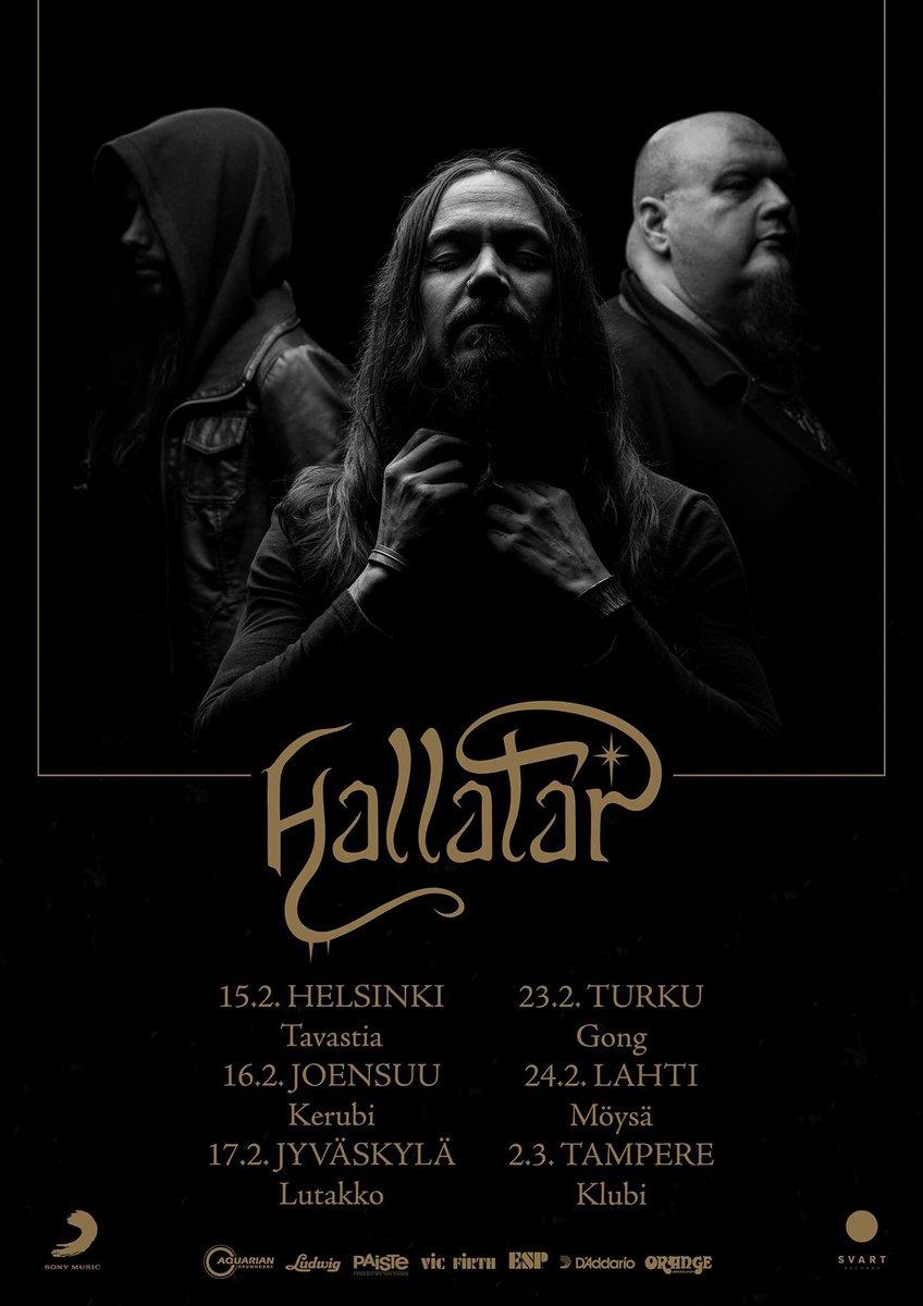 #Hallatar shows coming up next month in 🇫🇮 #hallatardoom https://t.co/4cX9LzPaBQ