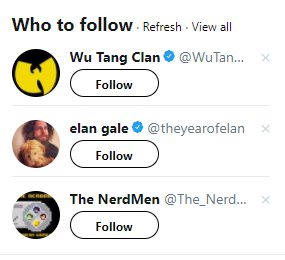 The NerdMen are in some very good company!