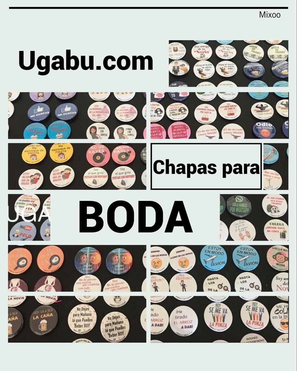 Chapas Ugabu On Twitter Chapas Para Boda Más De 100