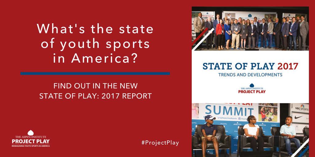 More than half of parents in @GallupPoll say they want their kids playing outside more. Why isn't it happening? 36% say it's too hot, cold or rainy. Read State of Play: 2017 report: https://t.co/oUmaZTQWXL #ProjectPlay