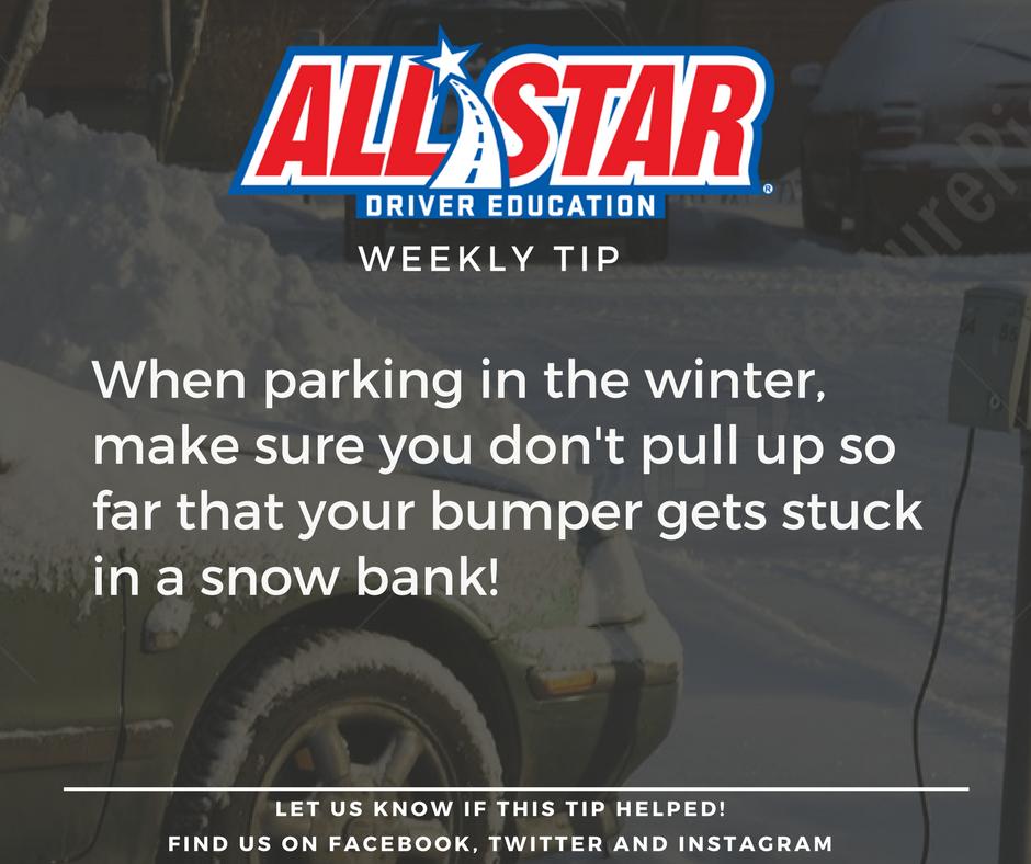 All Star Driver Education >> All Star Driver Education On Twitter Weeklytip Be Careful Parking