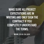 Don't rush into signing a contract with any contractor. Do your research when hiring a contractor. #WednesdayWisdom