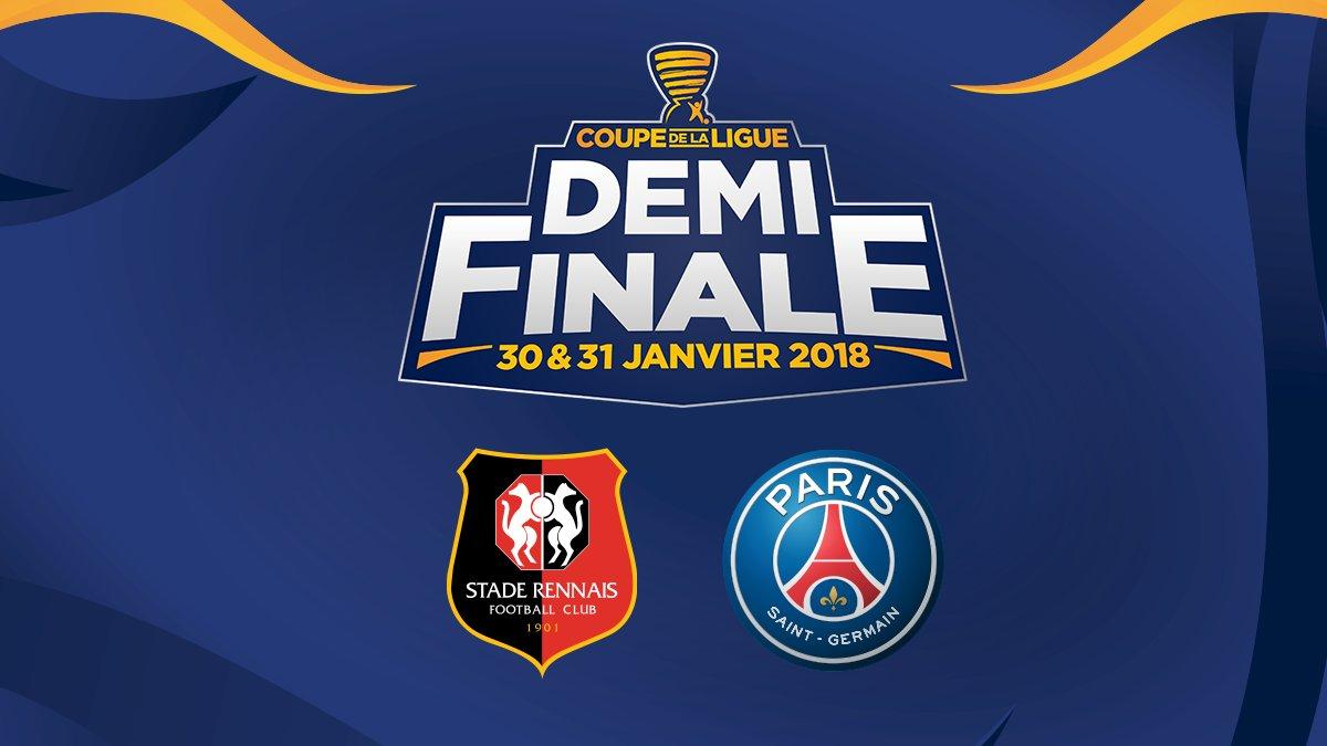 Coupe de la ligue rennes psg en demi finales - Tirage demi finale coupe de la ligue ...