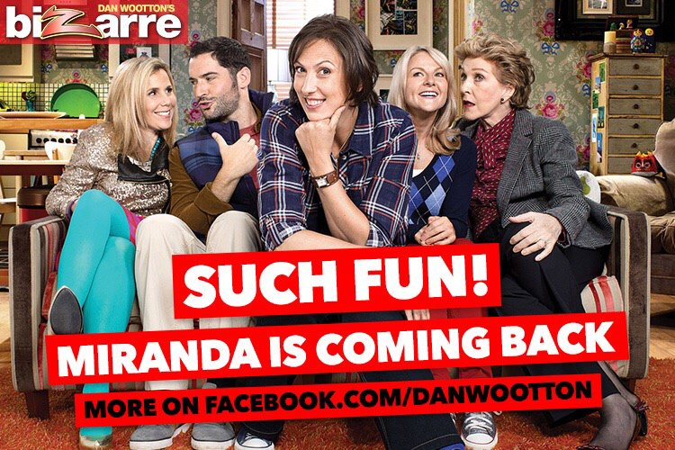 EXCLUSIVE Miranda is returning for a brand new series. Such fun! https://t.co/EQ2CkOEKwM https://t.co/SsrVT0FOCd