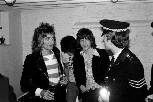 The Real Mick Rock Happy Birthday Sir Rod Stewart!Rod, Ronnie Wood and Mick...