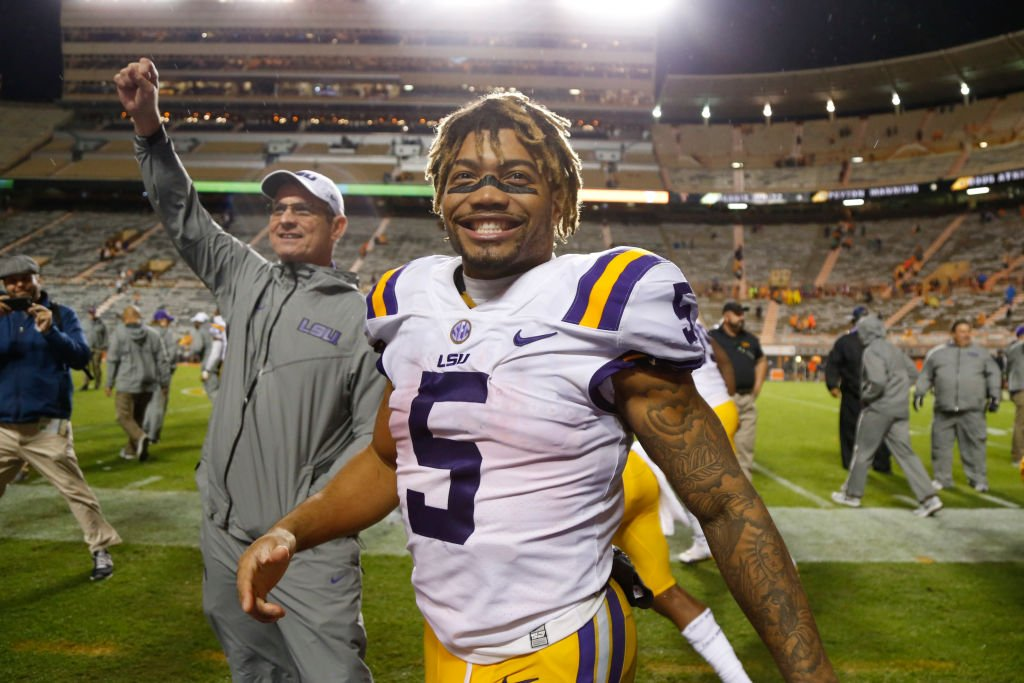 Derrius Guice declares for the NFL Draft