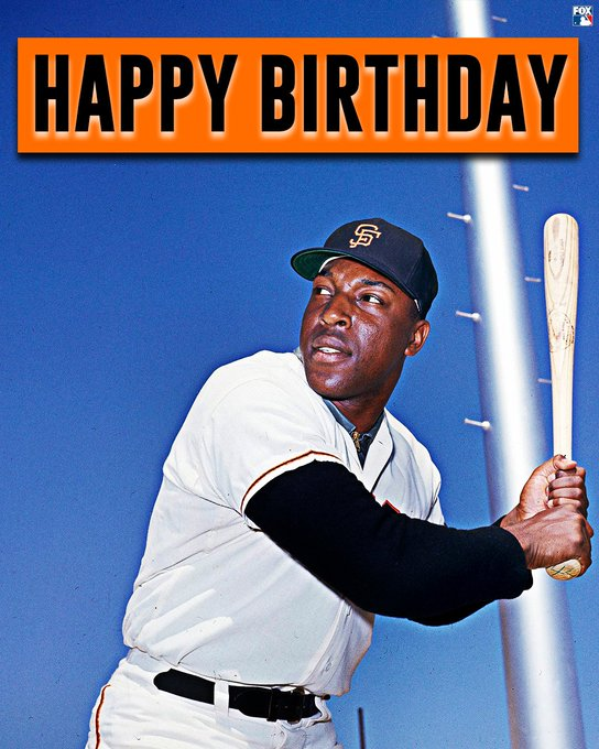 Happy 80th Birthday to the legendary Willie McCovey!