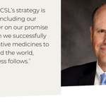 Today, CSL Limited CEO Paul Perreault spoke at the J.P. Morgan Healthcare Conference. Building on the company's strong and consistent revenue growth, CSL is well positioned to achieve its strategic objectives in 2018 and beyond, Perreault told the investor community. #JPM18
