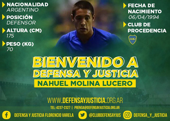 Defensa y Justicia's photo on Nahuel