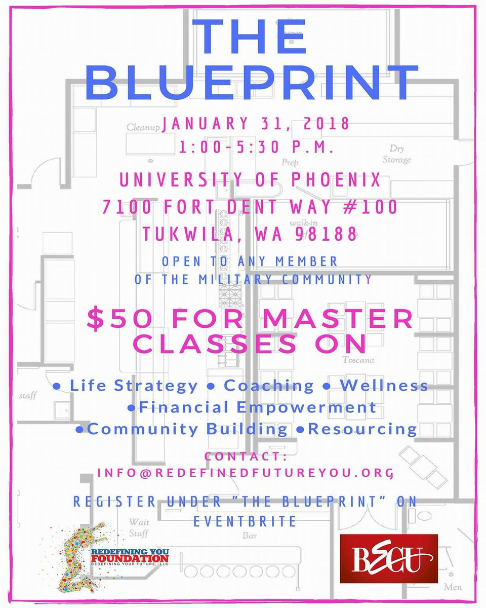 Mos heroes on twitter teamwa redefining your future the your future the foundation is hosting our new series of masterclasses called the blueprint personal development roadmap for your professional journey malvernweather Choice Image