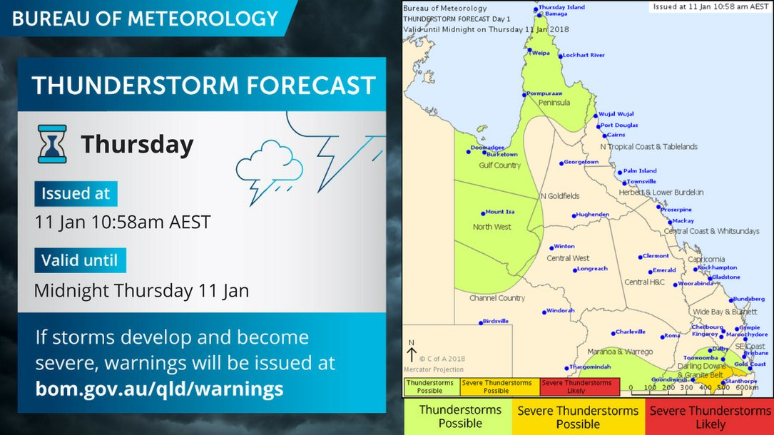 Powerlink Queensland On Twitter The BOMQld Is Predicting Storms - Flooded roads map