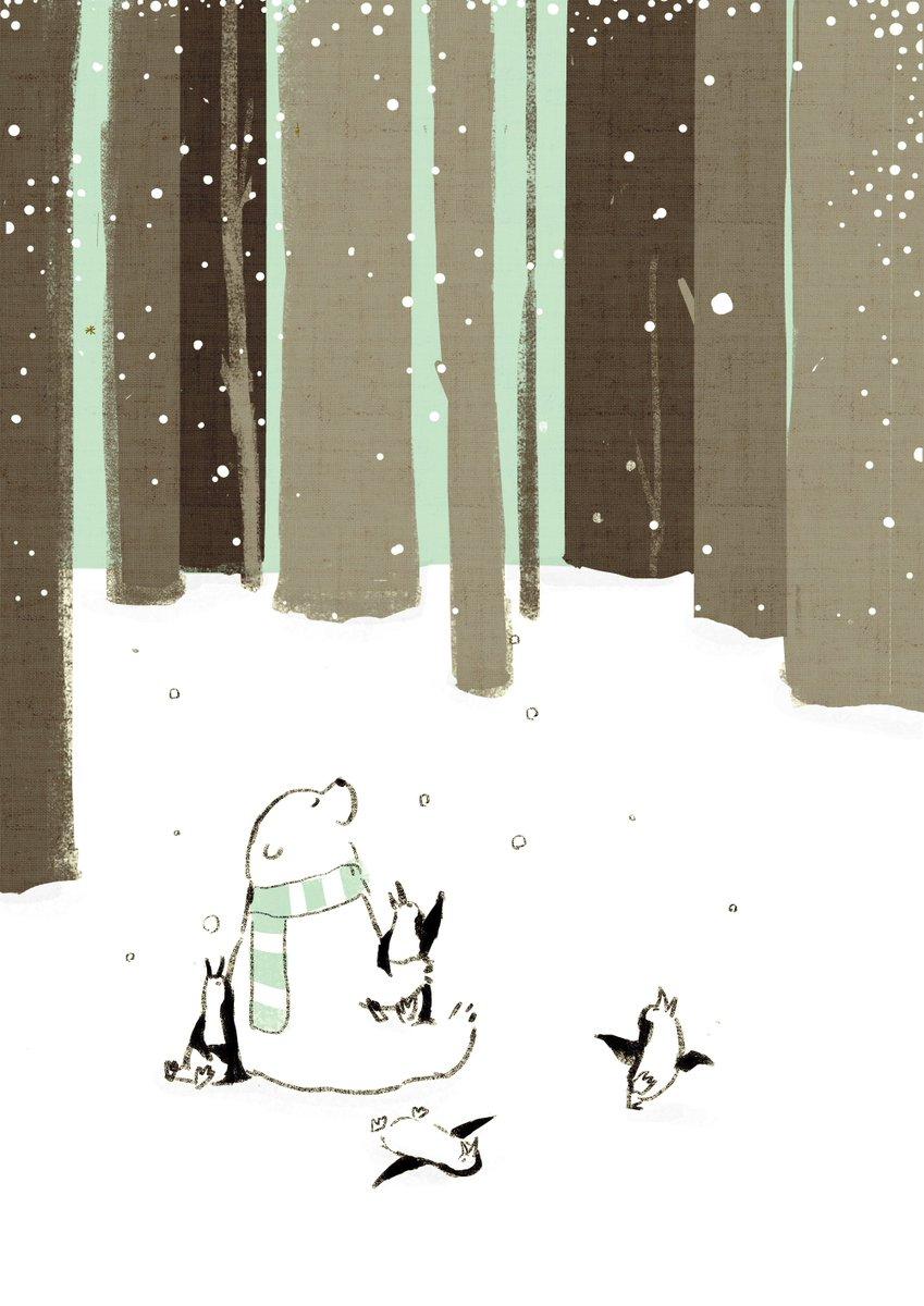 雪だ! 雪だー!