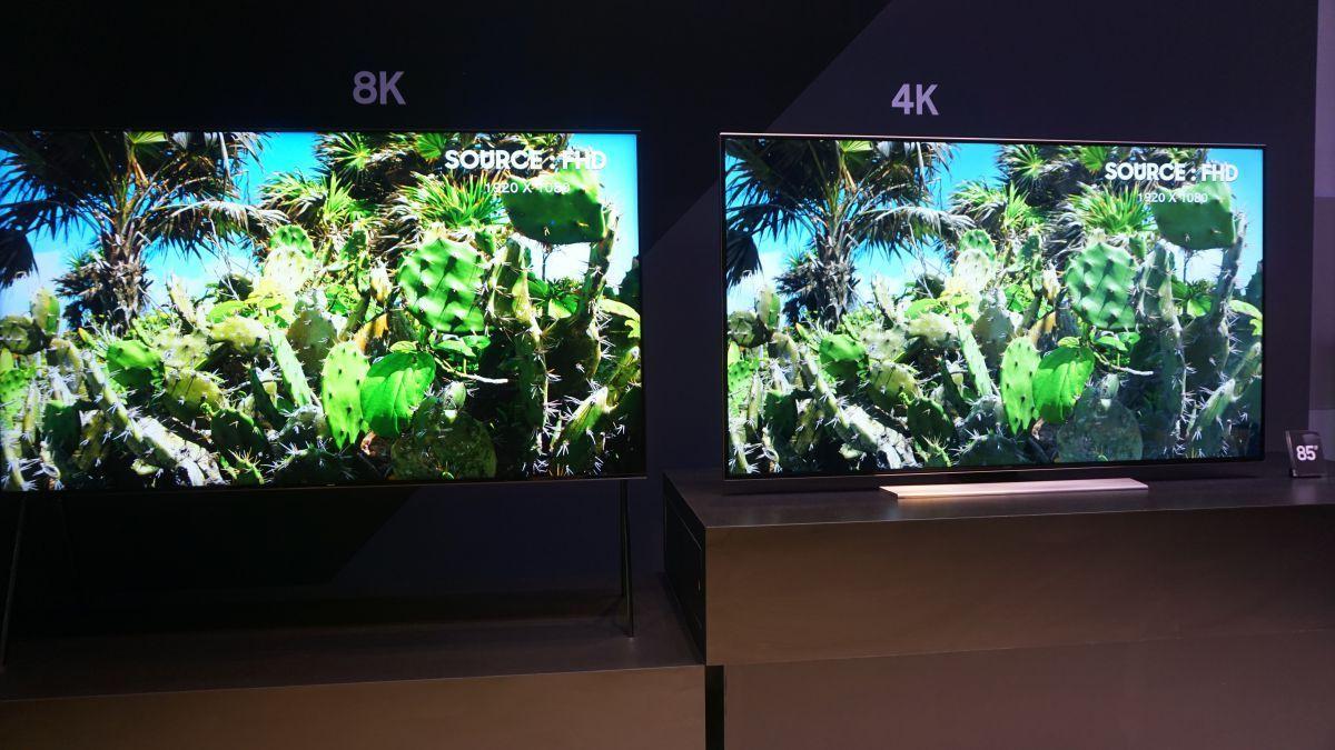 Techradar On Twitter Samsungs 8k Tv With Ai Upscaling Makes Hyper