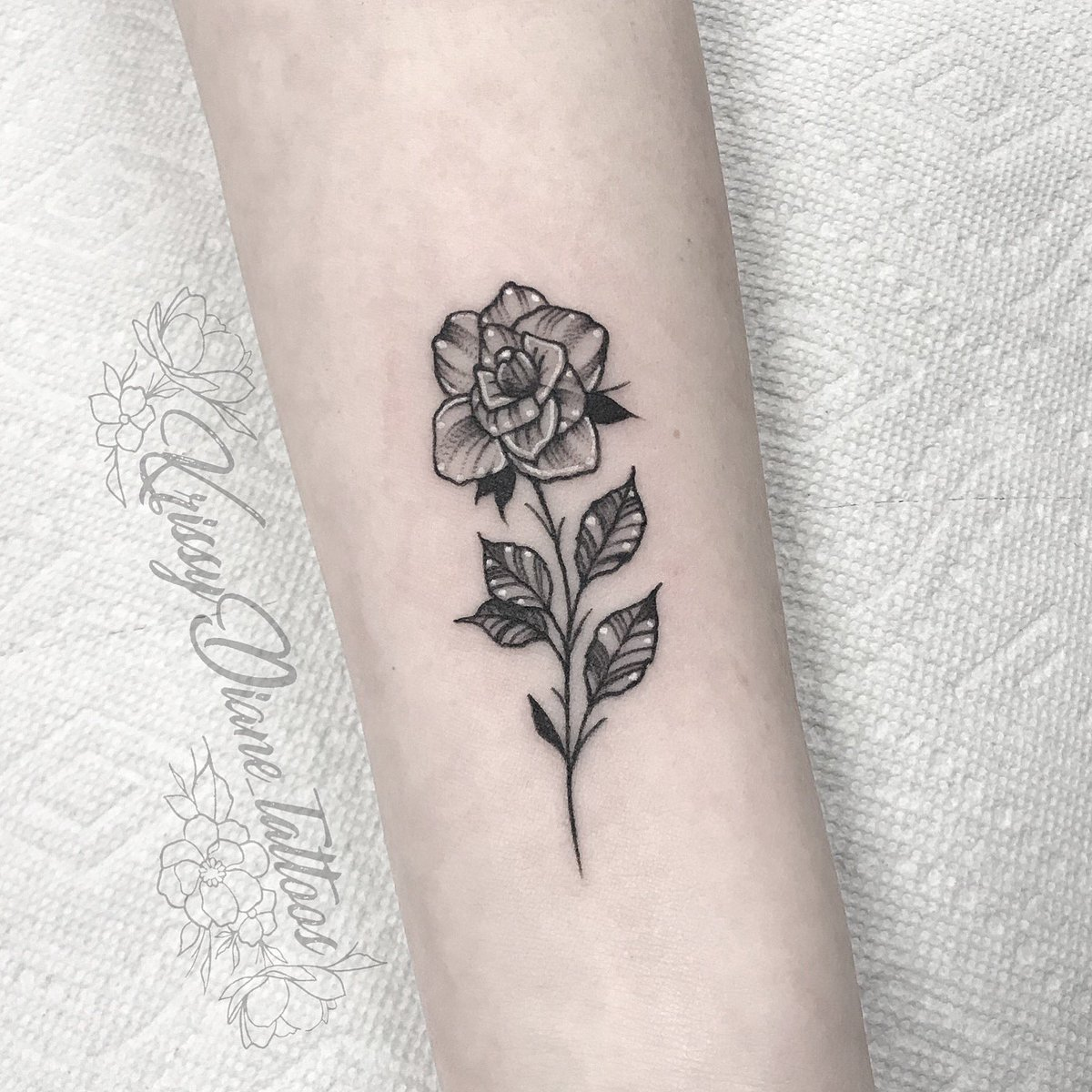 Krissy Bergquist On Twitter Cute Little Rose Smalltattoos