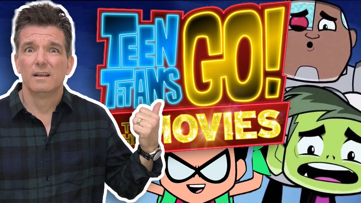 My 'Teen Titans GO! To the Movies' trail...