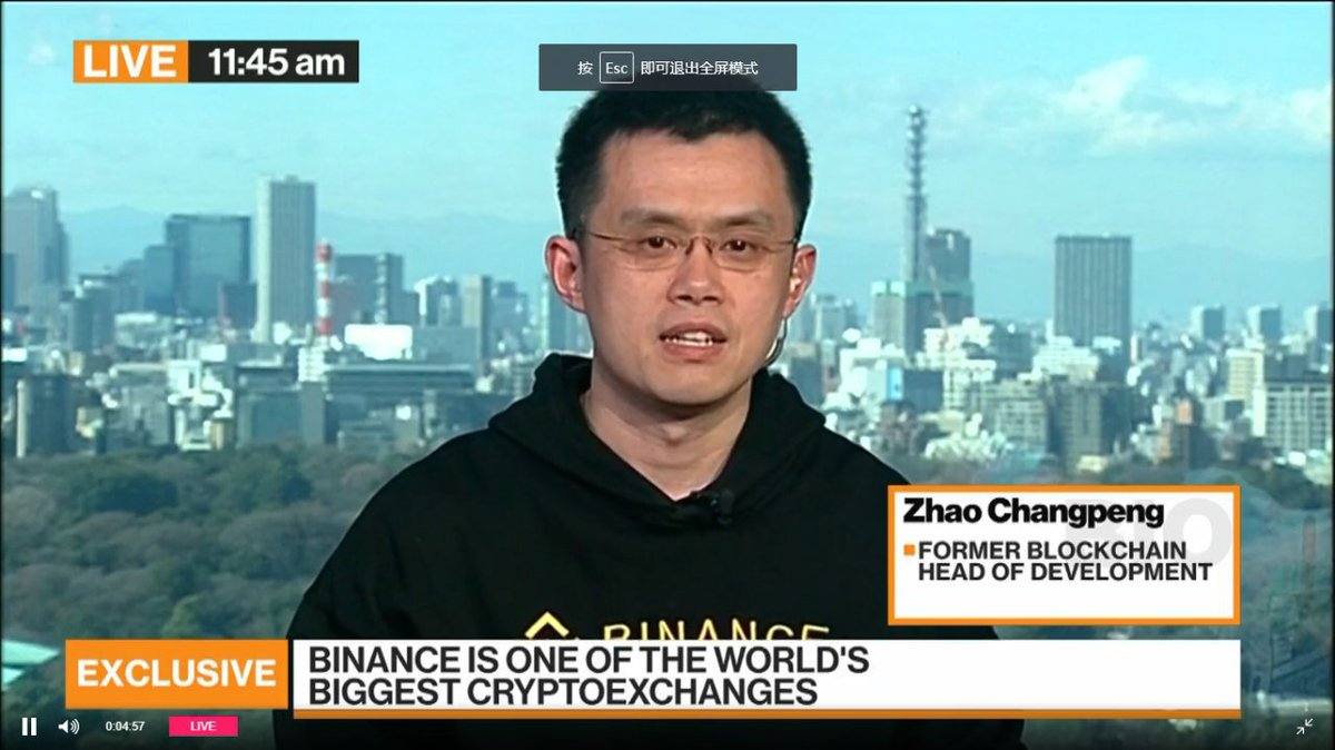 The future of cryptocurrency binance ceo