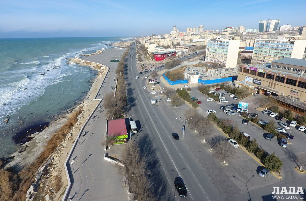 Актау фото города сегодня