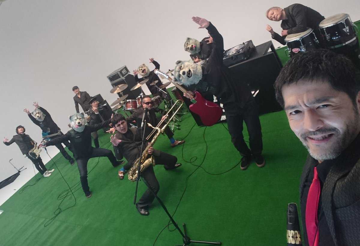 東京マンウィズスカ狼パラダイスオーケストラ愉しい。