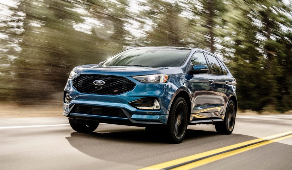 The New Ford Edge St With Lots Of Fordperformance Goodness Including Twin Turbo Ecoboost V And Fordperformance Suspension Mods Ford