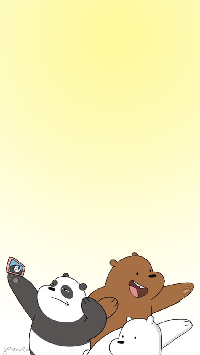 On twitter we bare bears wallpapers i hope you guys like it - We bare bears background ...