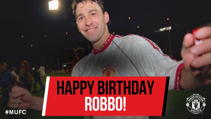 Happy birthday Bryan Robson - have a great day!